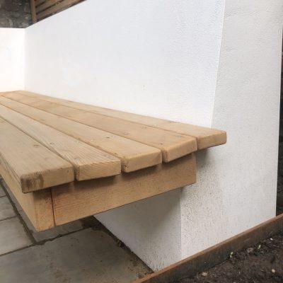 Bespoke Cedar Bench